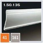 Плинтус из полиуретана 1.50.135 (2метра)
